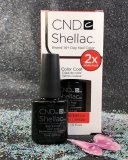 BIG - CND Shellac Black Pool 92216 GEL Color Coat