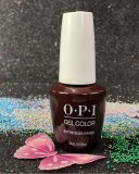 OPI Got The Blues For Red GCW52 GelColor New Look