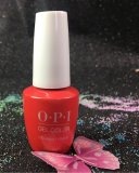 OPI I Eat Mainely Lobster GelColor NEW Look GCT30