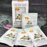 Organics SPAREDI Detox in a Box Luxurious Pedicure 4 Steps Gardenia 10480