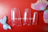 W - Clear Nail Tips 500 Pcs