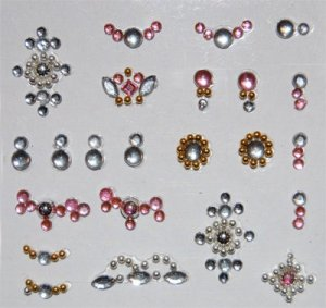 3D Jewelry Nail Stickers